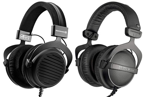 NOISE ISOLATION - CLOSED-BACK HEADPHONES ARE BETTER AT BLOCKING NOISE