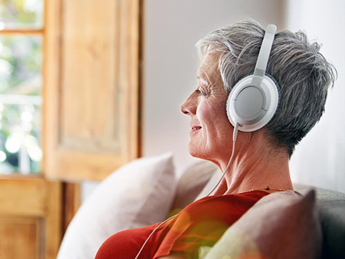 What to use at different times Listening at home